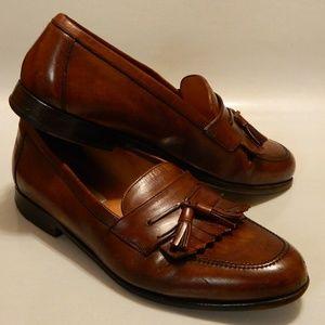 MEZLAN Men's Shoes Loafers Kiltie Brown Sz 9W
